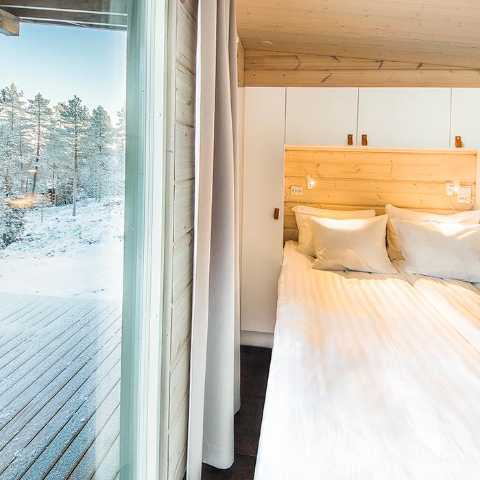 Arctic TreeHouse Hotel makuuhuone