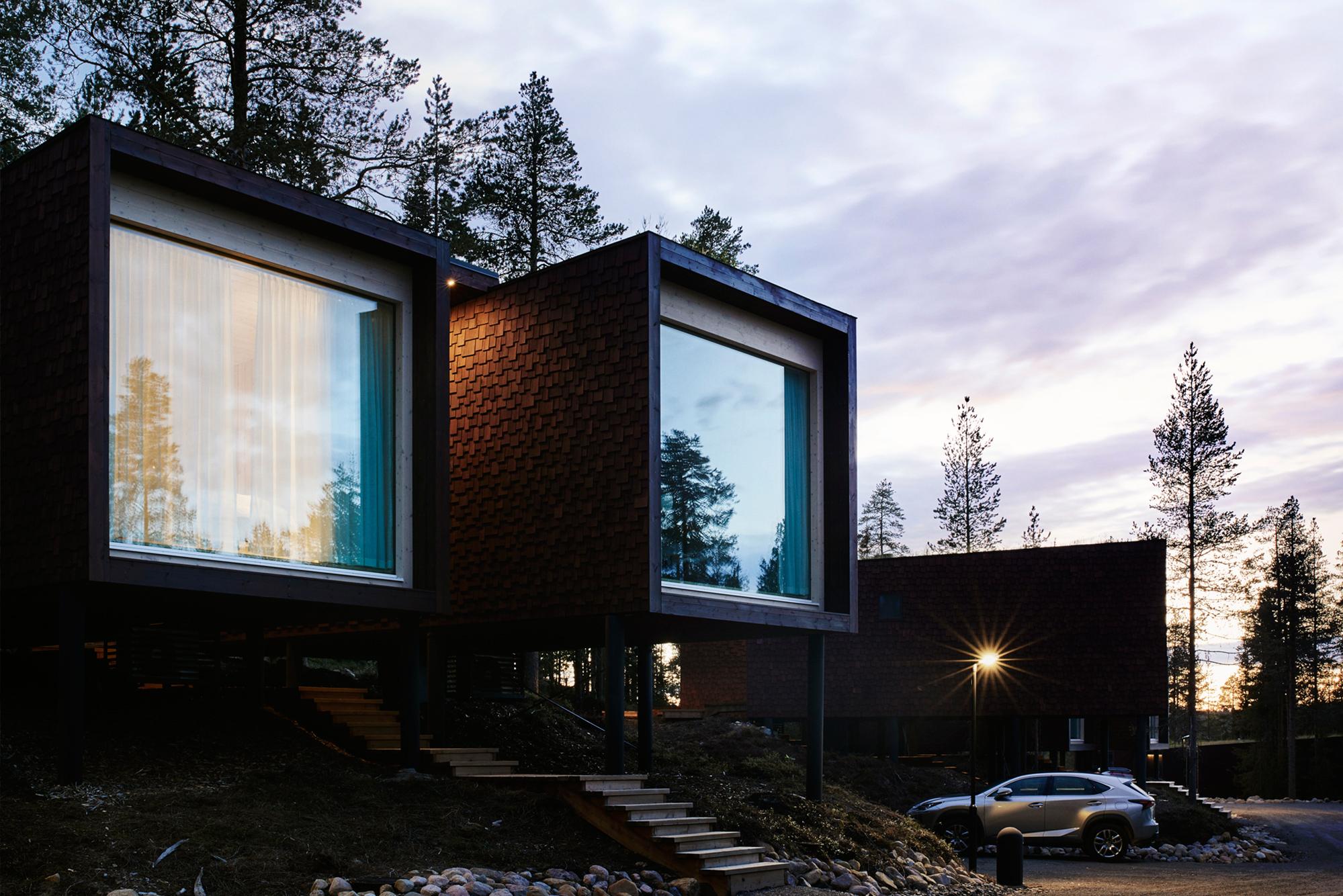 Arctic tree house architecture