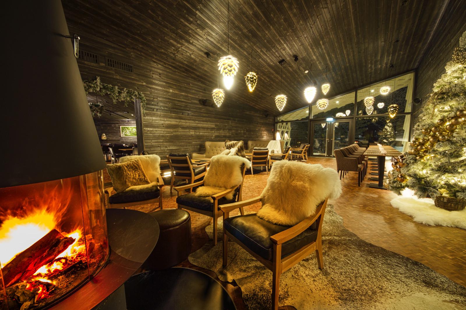 Arctic Glasshouse En Arctic Treehouse Hotel
