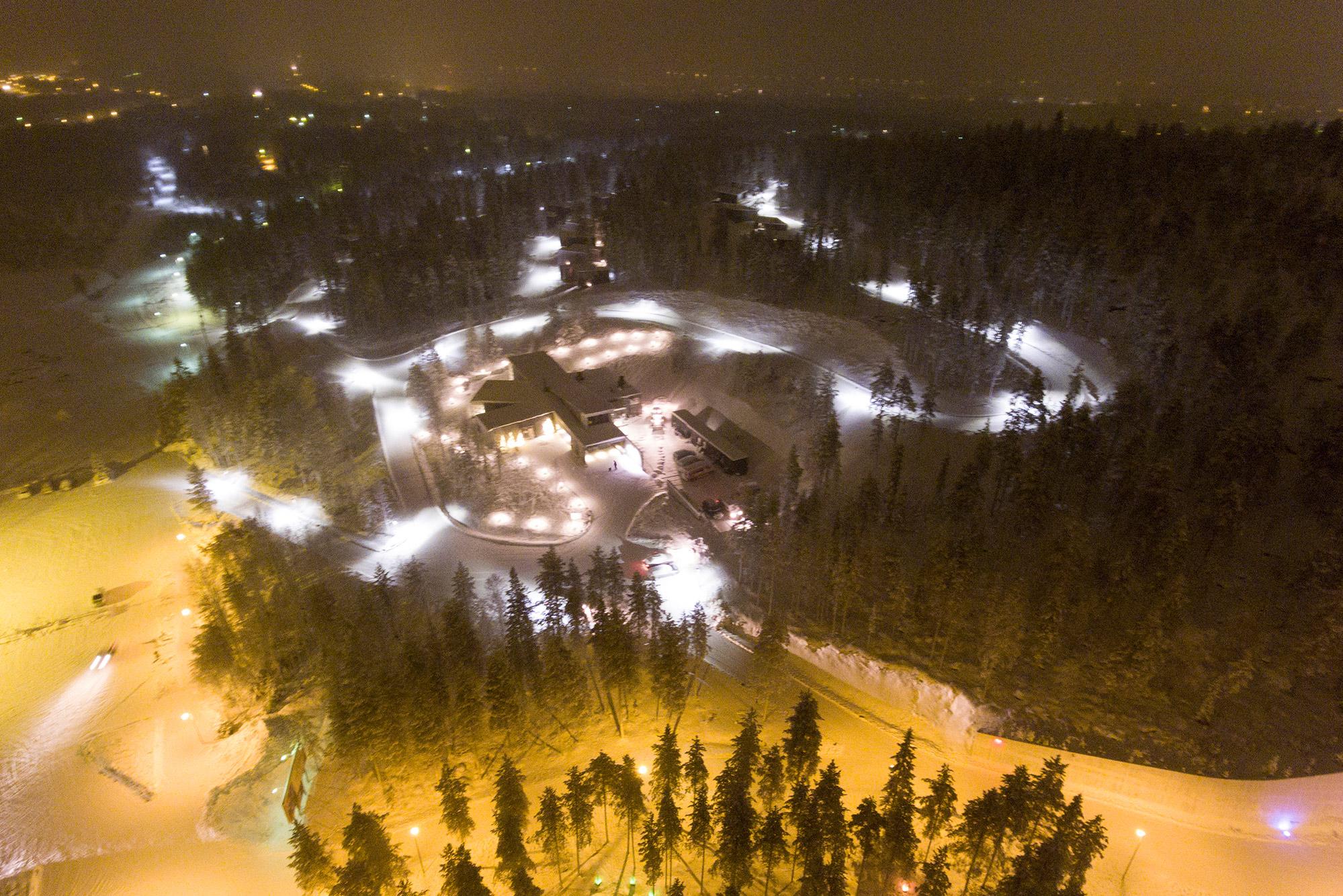Arctic TreeHouse Hotel Location